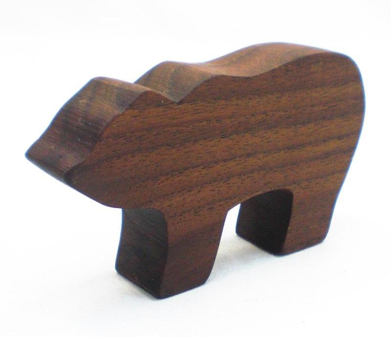 Bear Natural Wood Toy