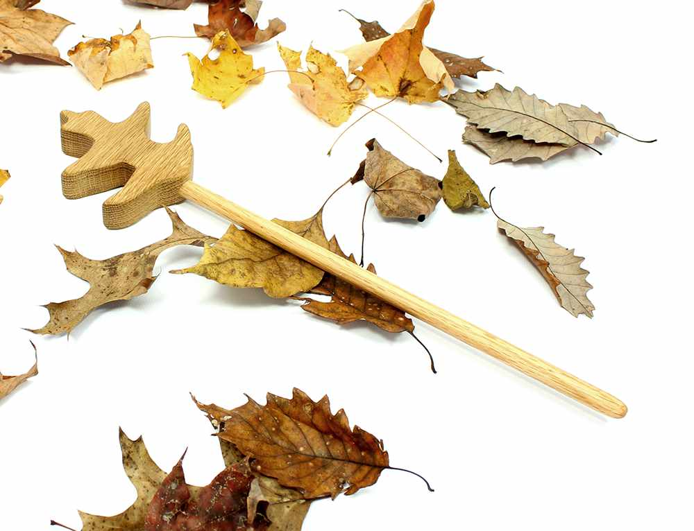 Oak Leaf Magic Wand