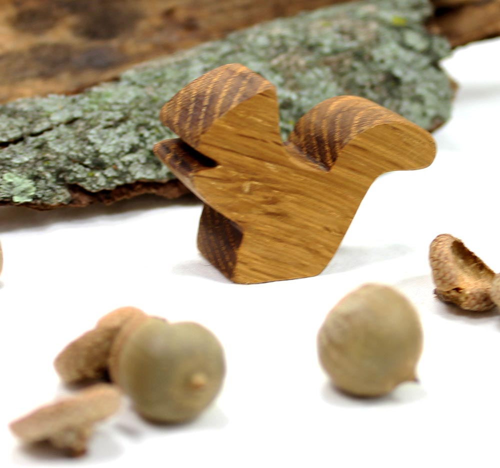 Squirrel Wood Animal Toy