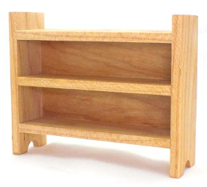 Short Maple Shelves