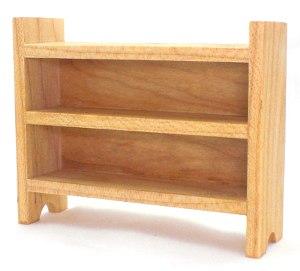 Short Maple Shelves