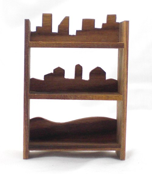 Silhouette Book Shelves