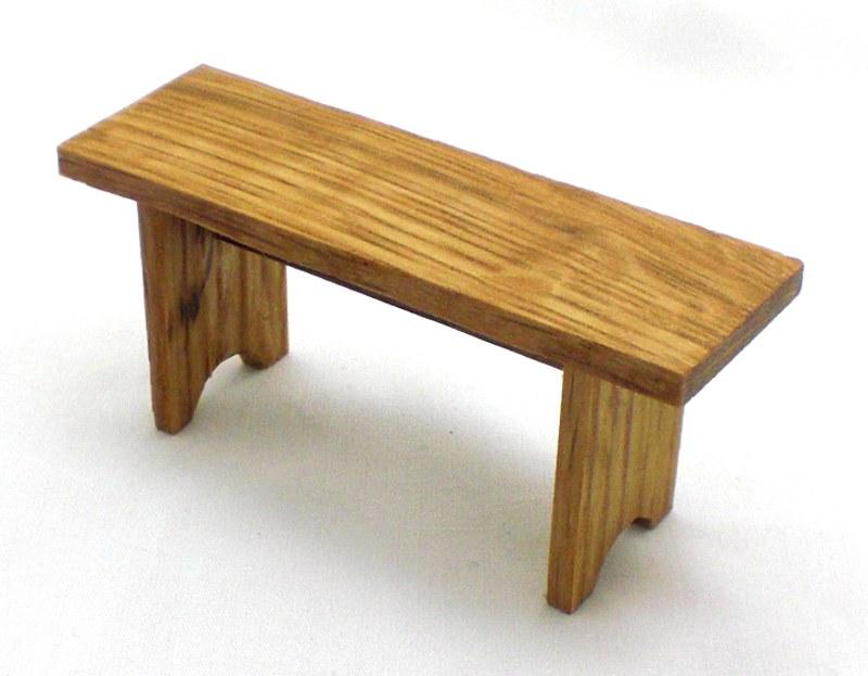 Oak Bench 3
