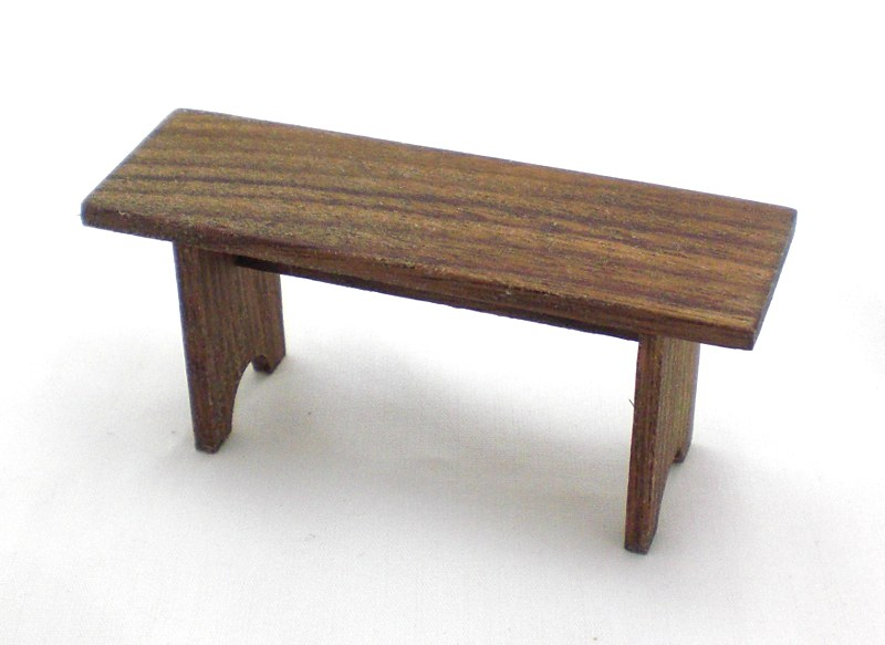 Mini Walnut Bench 3