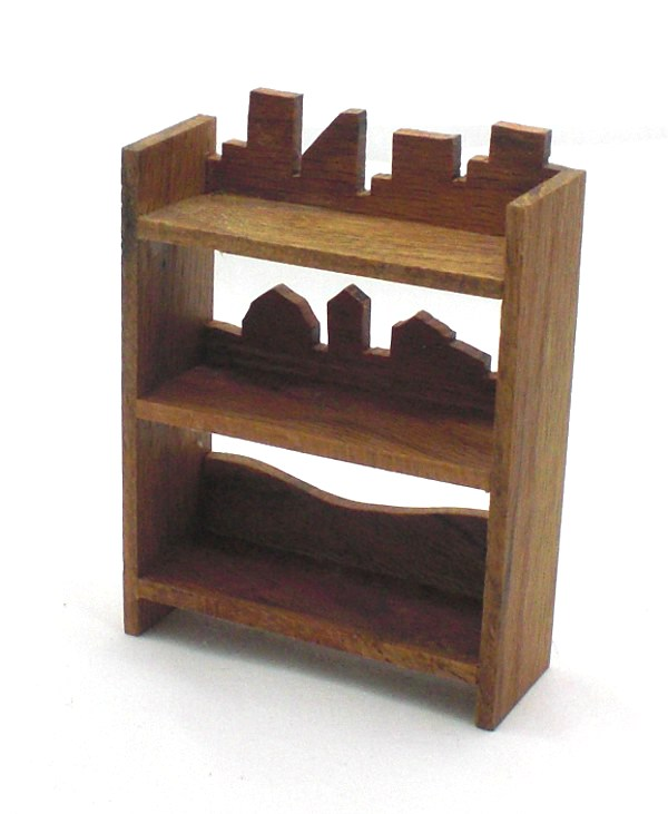 Fun Red Oak Shelves