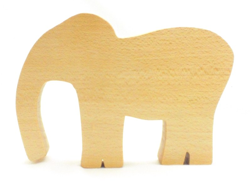 Elephant Wood Toy
