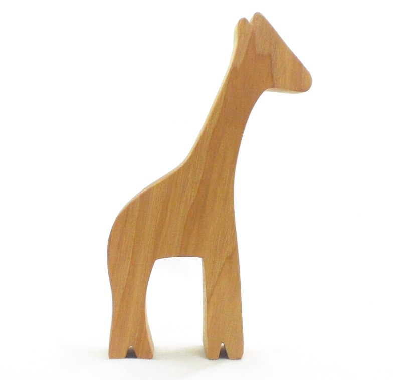 Giraffe Wood Toy