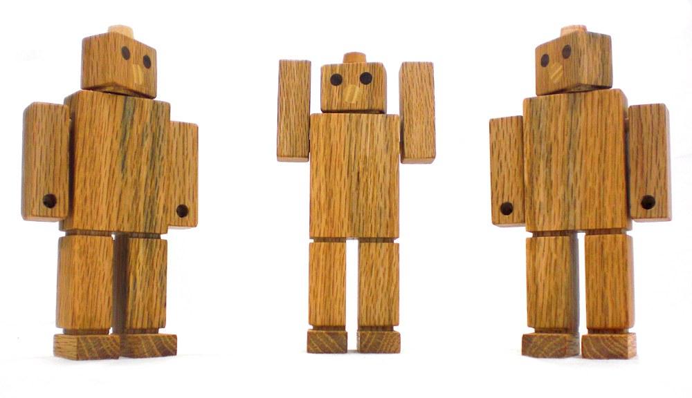 Wood Robot Toy