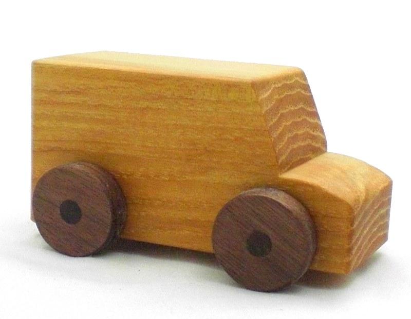 Wood Van Toy