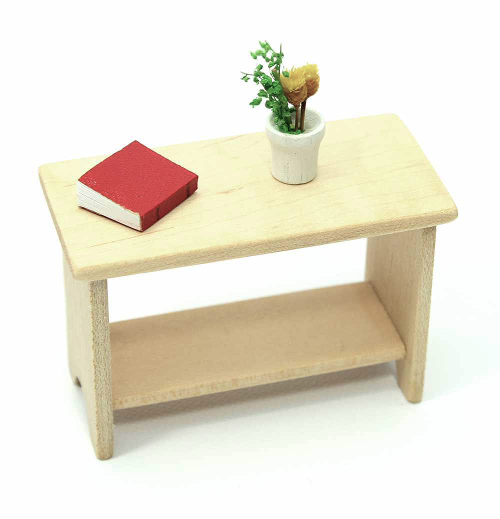 Mini Maple Console Table