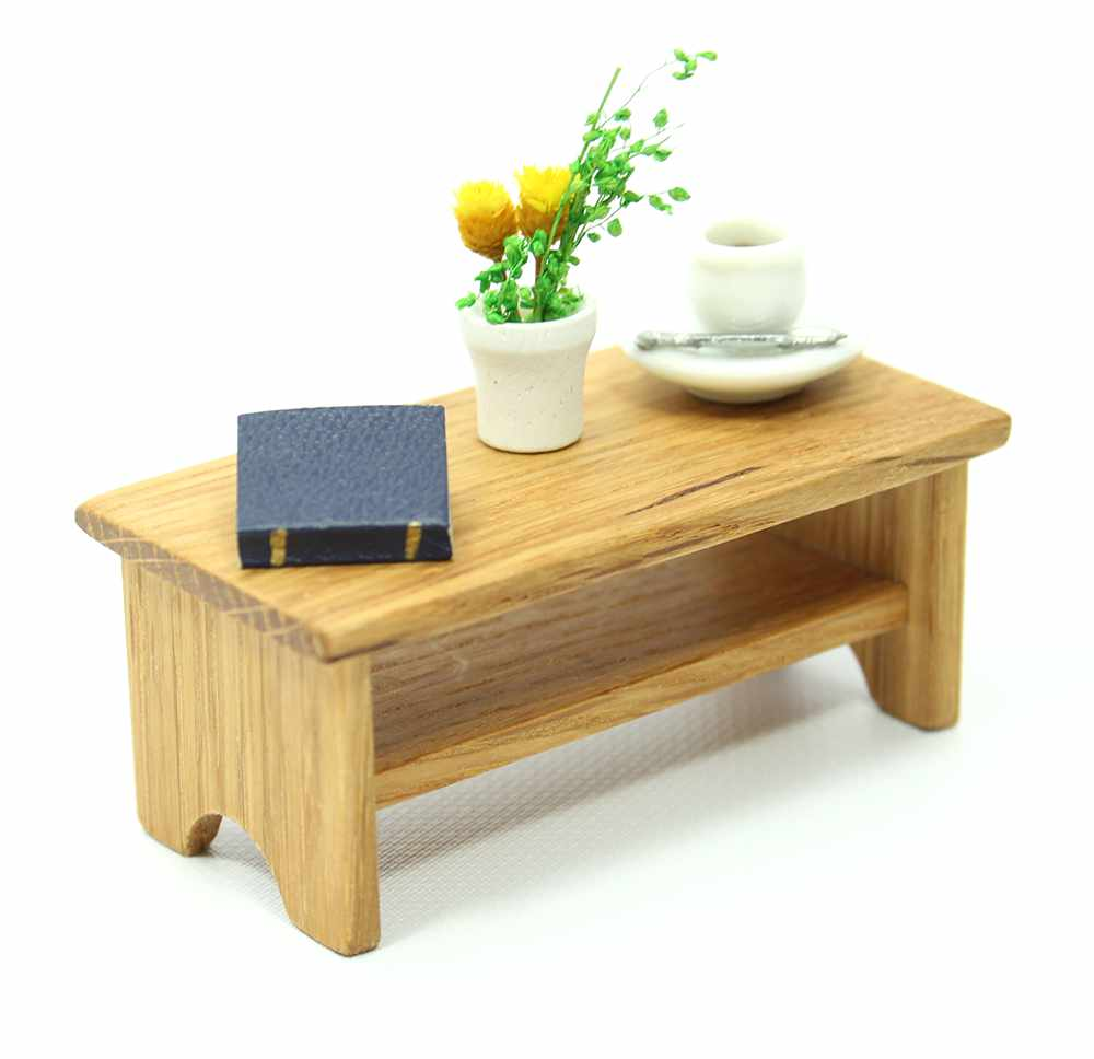 Dollhouse Oak Coffee Table