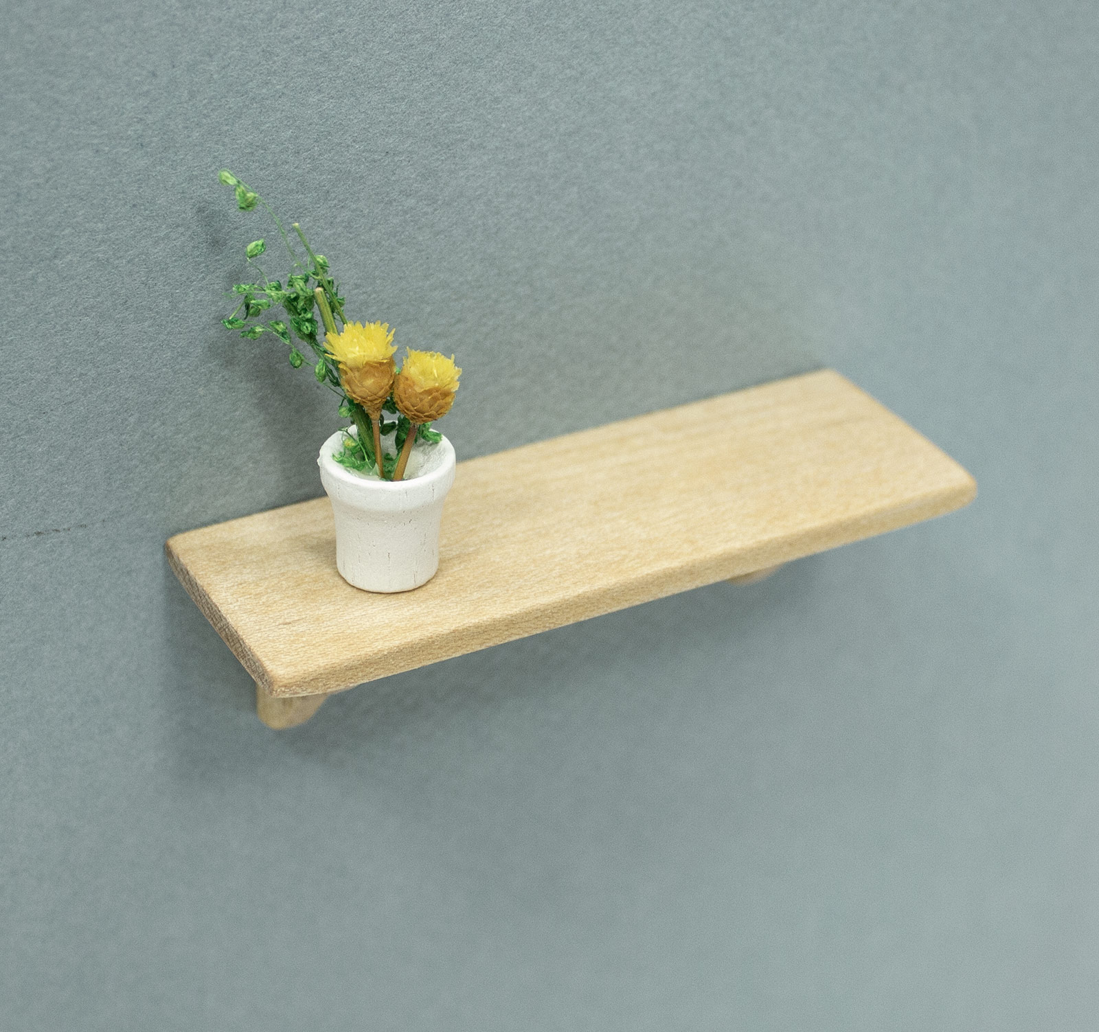 Miniature Long Wall Shelf