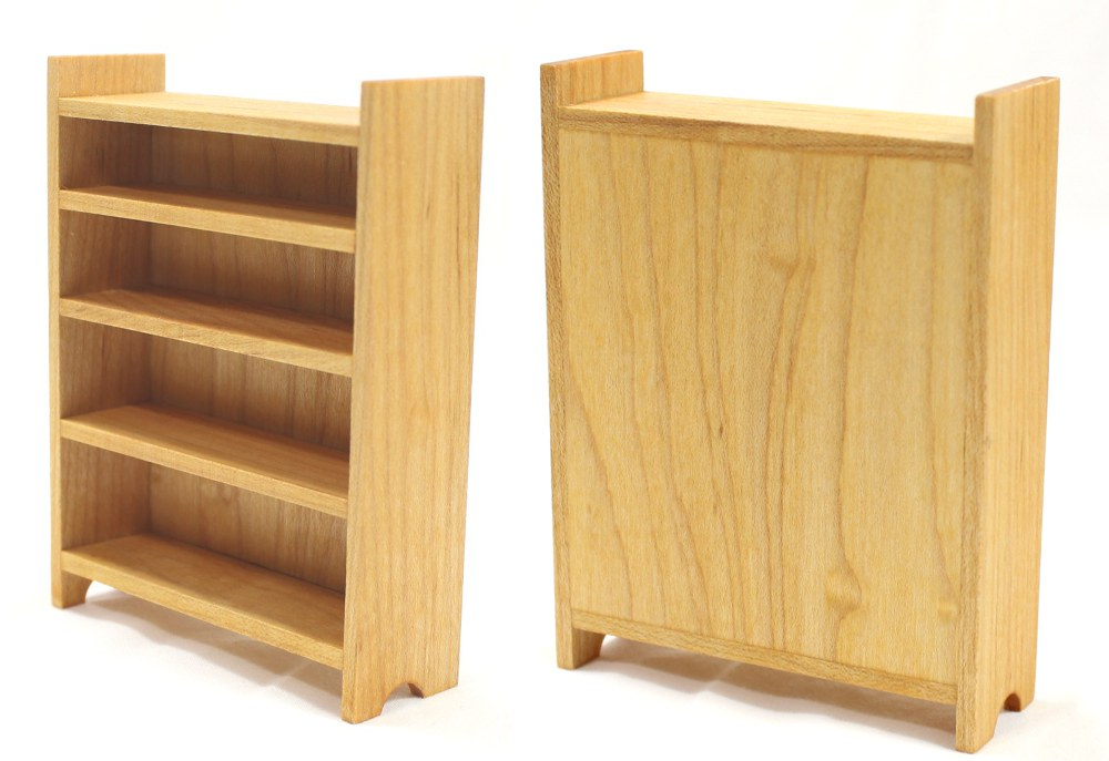 Tall Maple Bookshelf