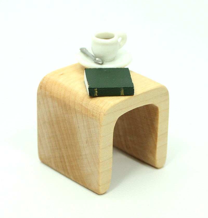Modern Maple End Table Mini