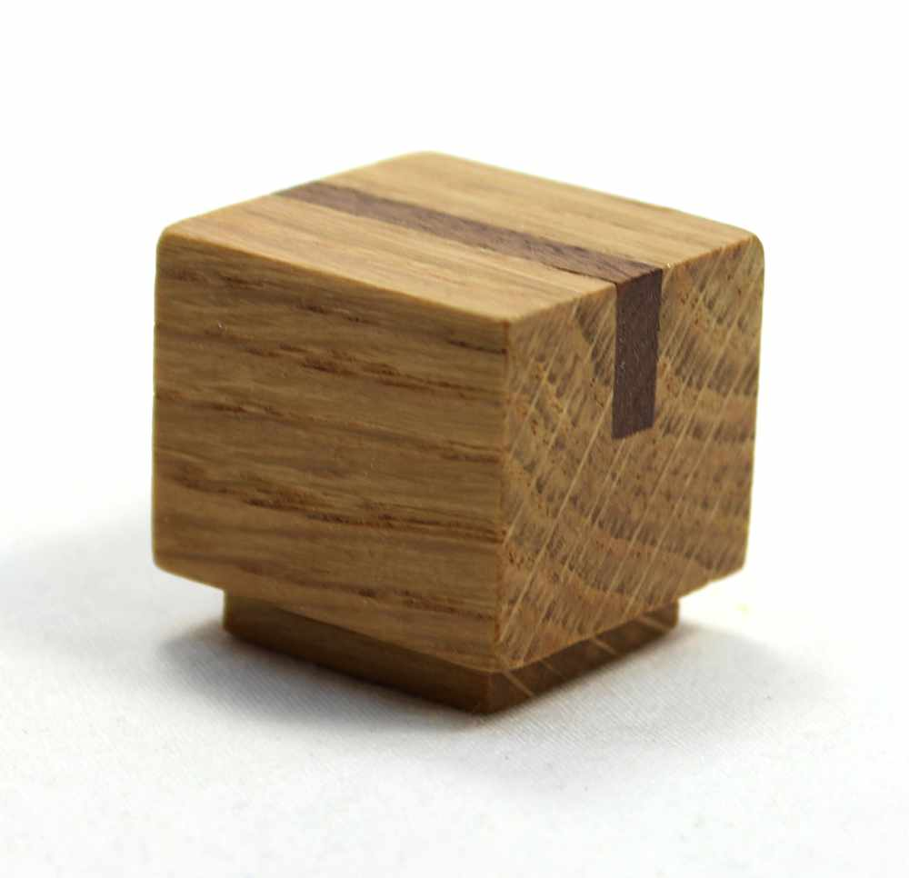 Arts and Crafts Wood Knob