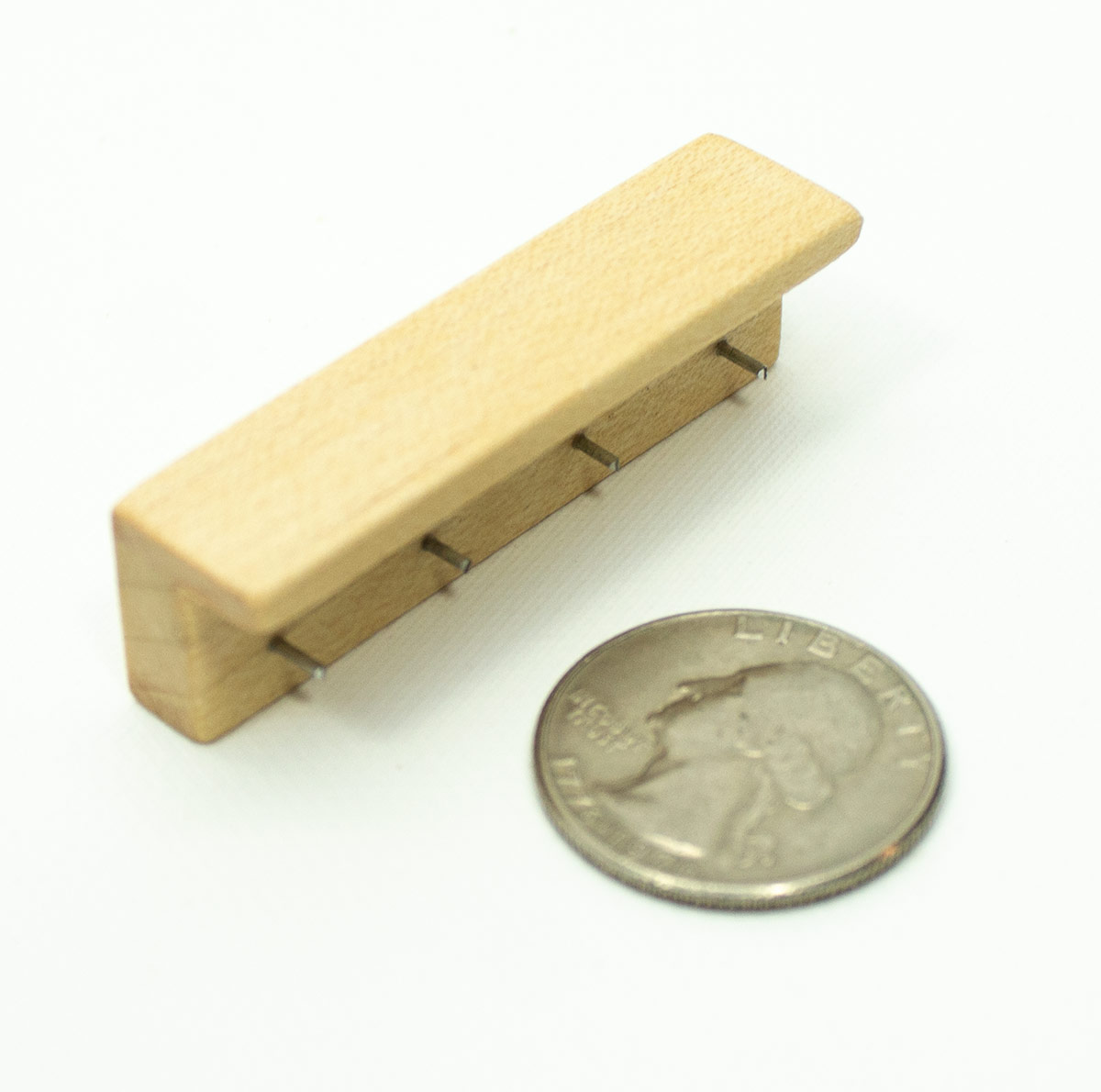 Mini Short Maple Wall Mounted Coat Hook