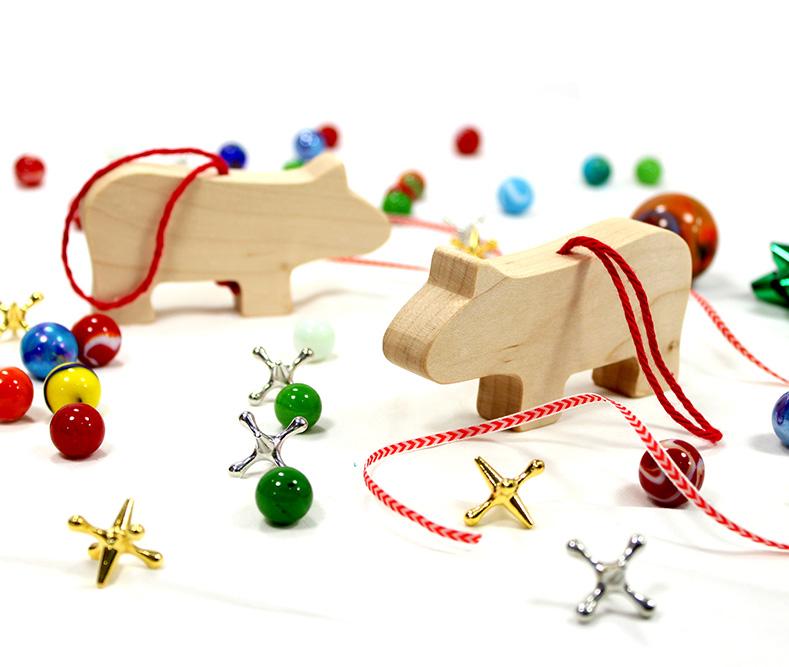 Hippopotamus Christmas Ornament | Happy Bungalow