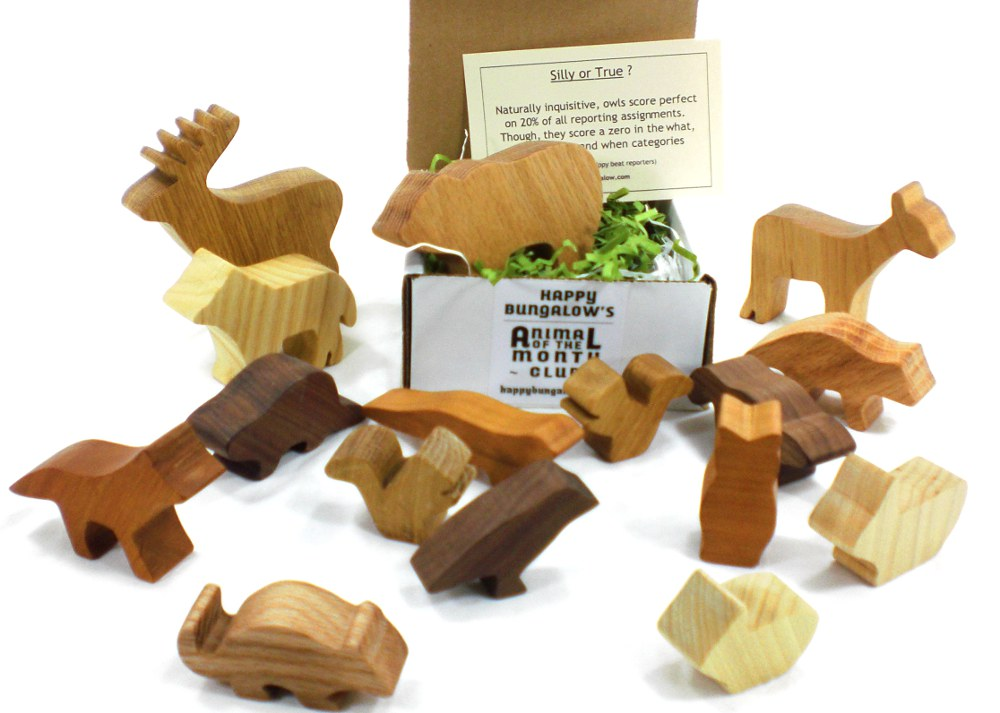 Woodland Animal Toy of the Month Club