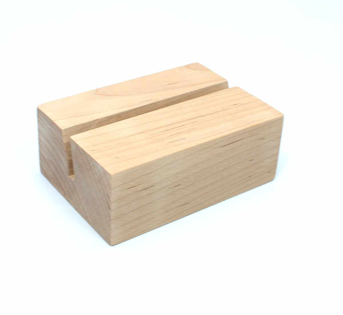Raw Wood Desk Calendar Stand