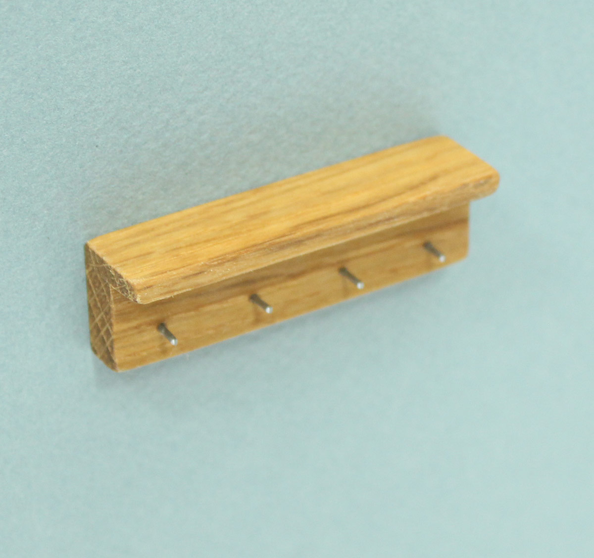 Mini Short Oak Wall Mounted Coat Hook