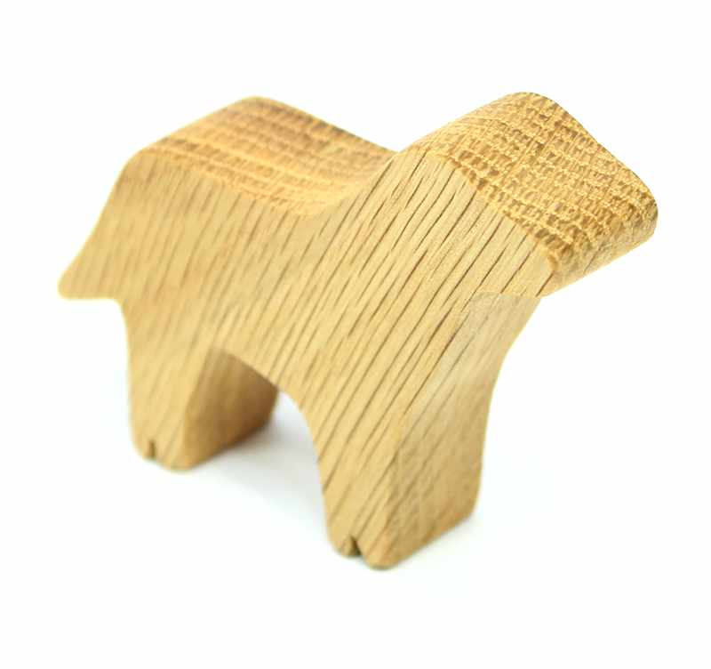 Wood Toy Dog Family