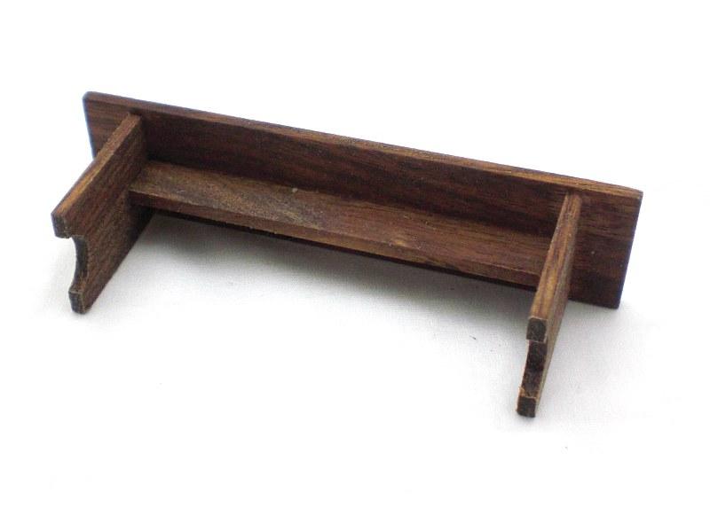 "Mini Walnut Bench 4"""