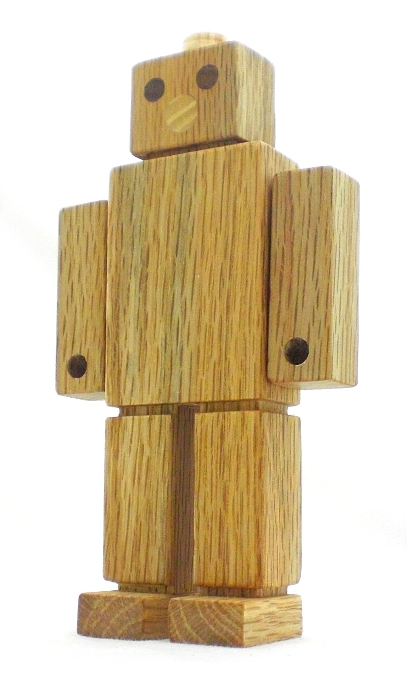Wood Robot Toy