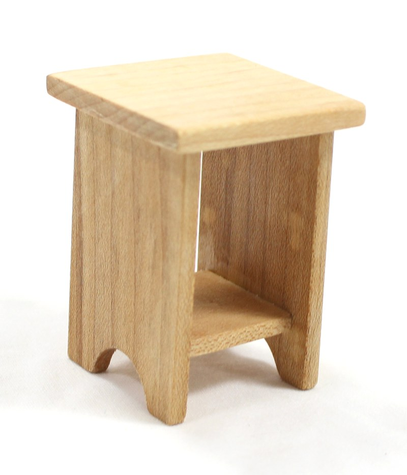 Dollhouse Furniture Maple End Table