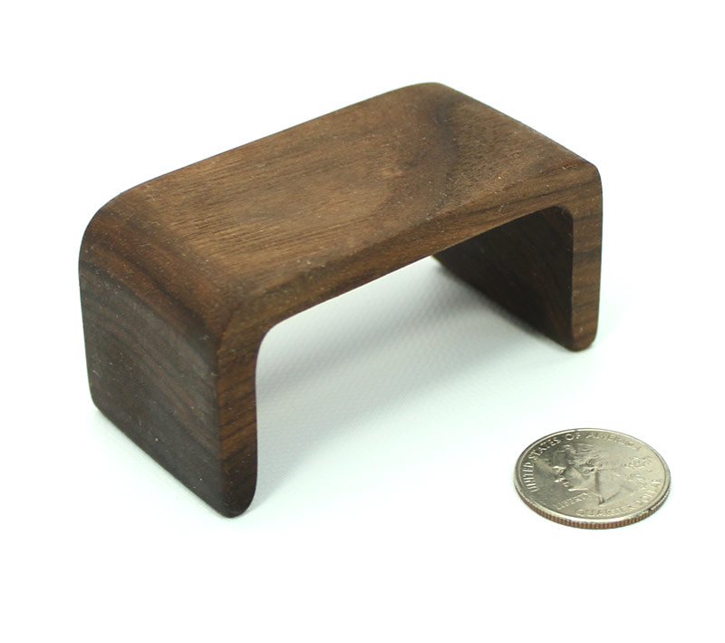 Mid Century Modern Walnut Coffee Table Mini