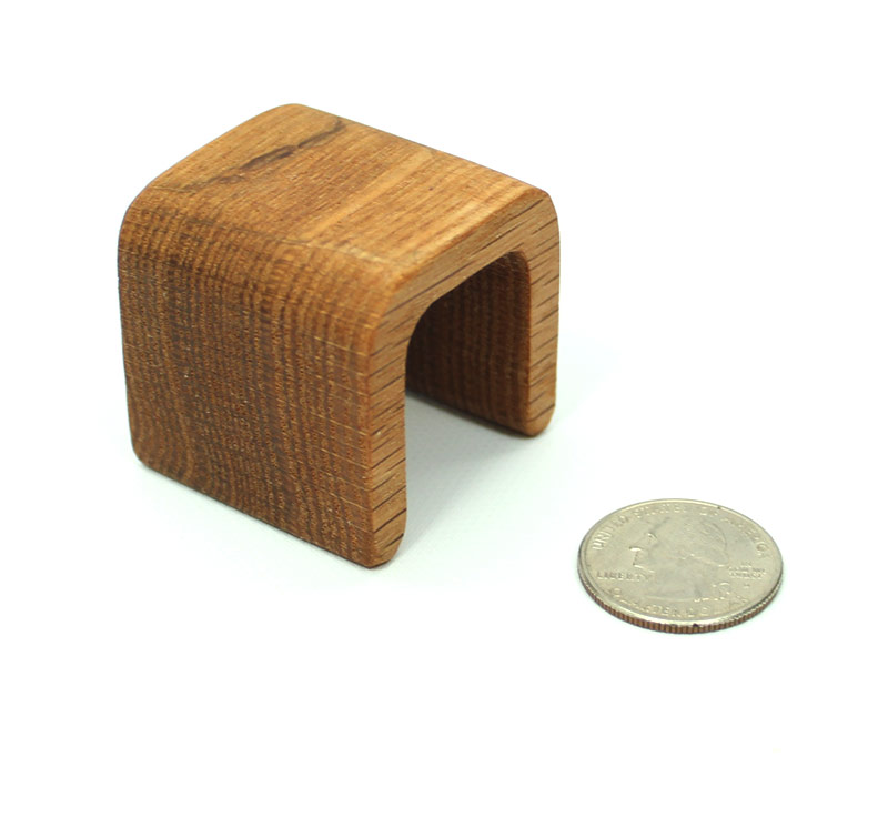 Modern Oak End Table Mini