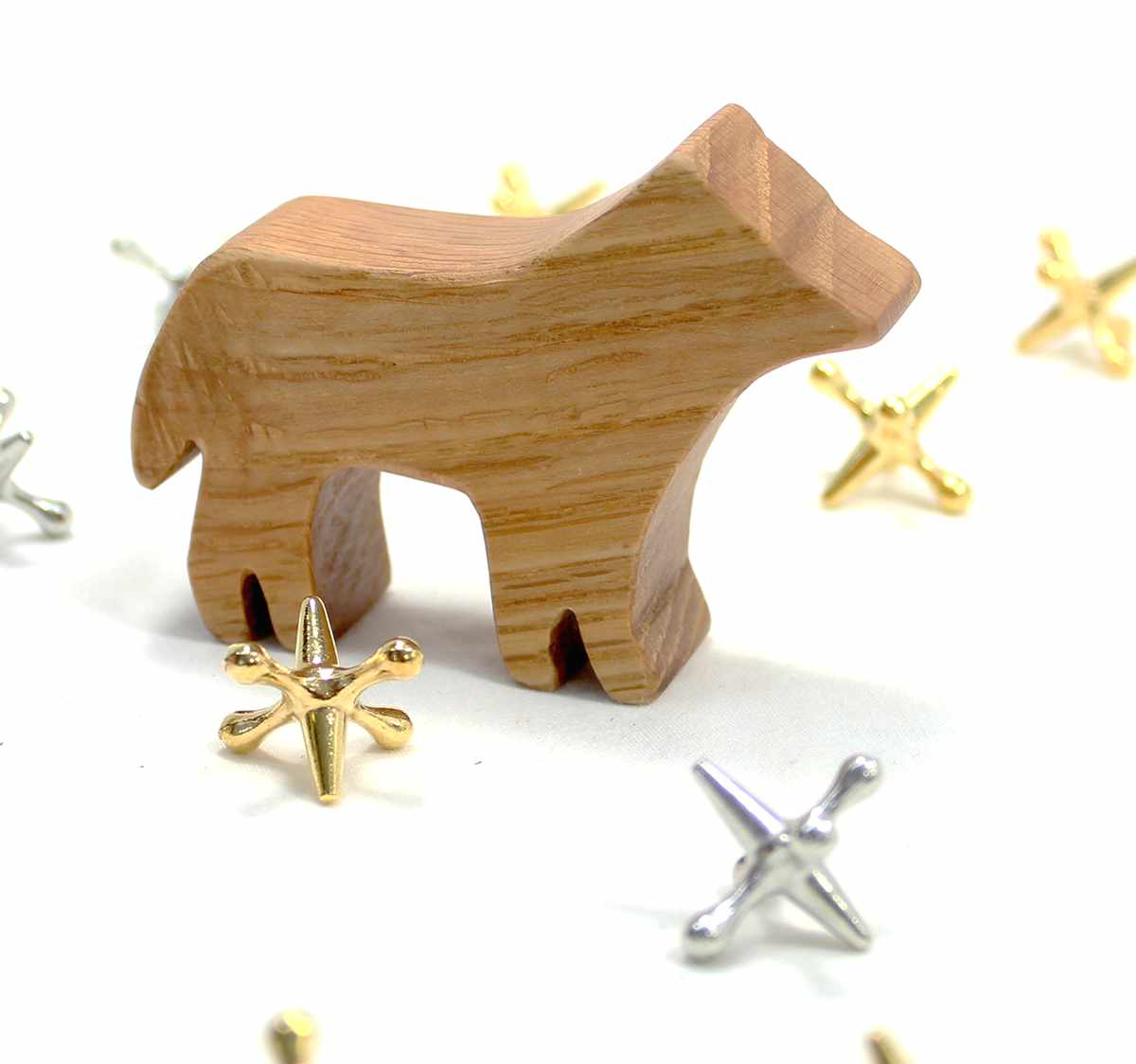 Dog Pack Wood Toys