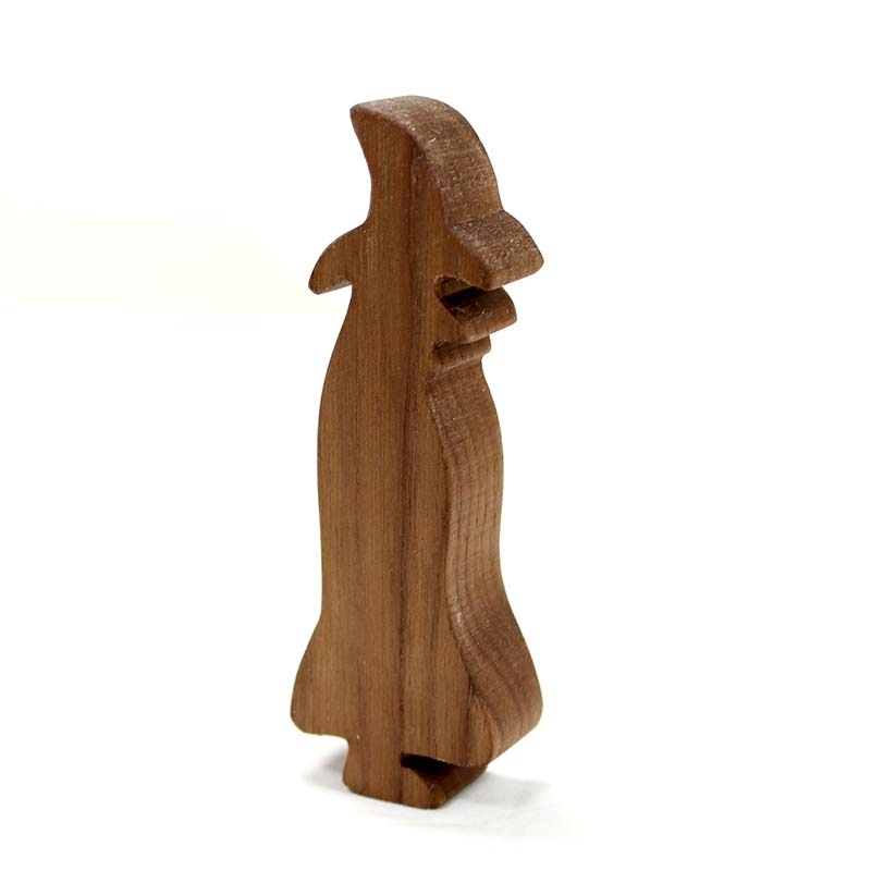 Wood Toy Witch