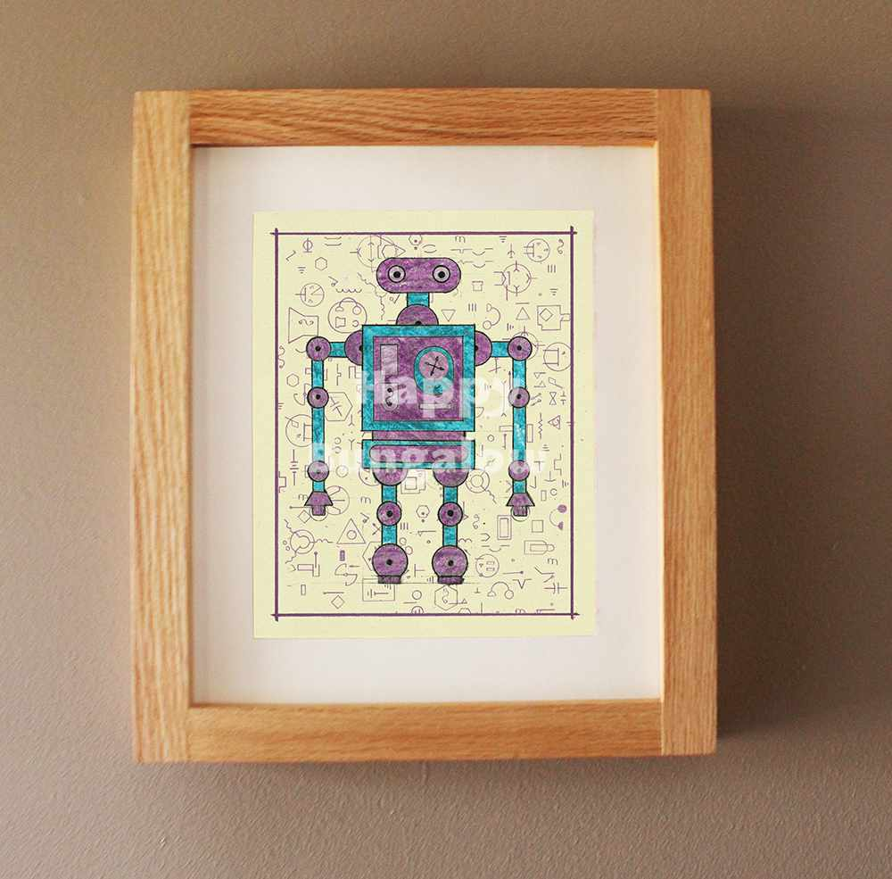 Robot Drawing for Kids