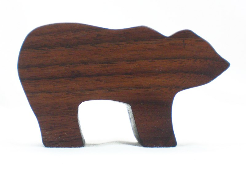 Bear Natural Wood Toy