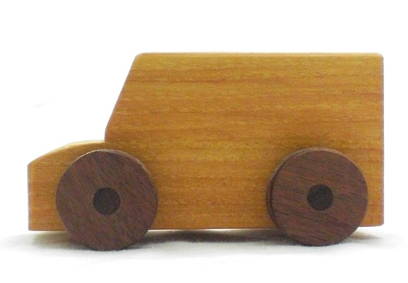 Wood Van Toy