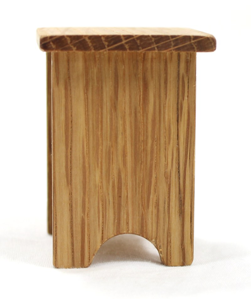 Mini Oak End Table