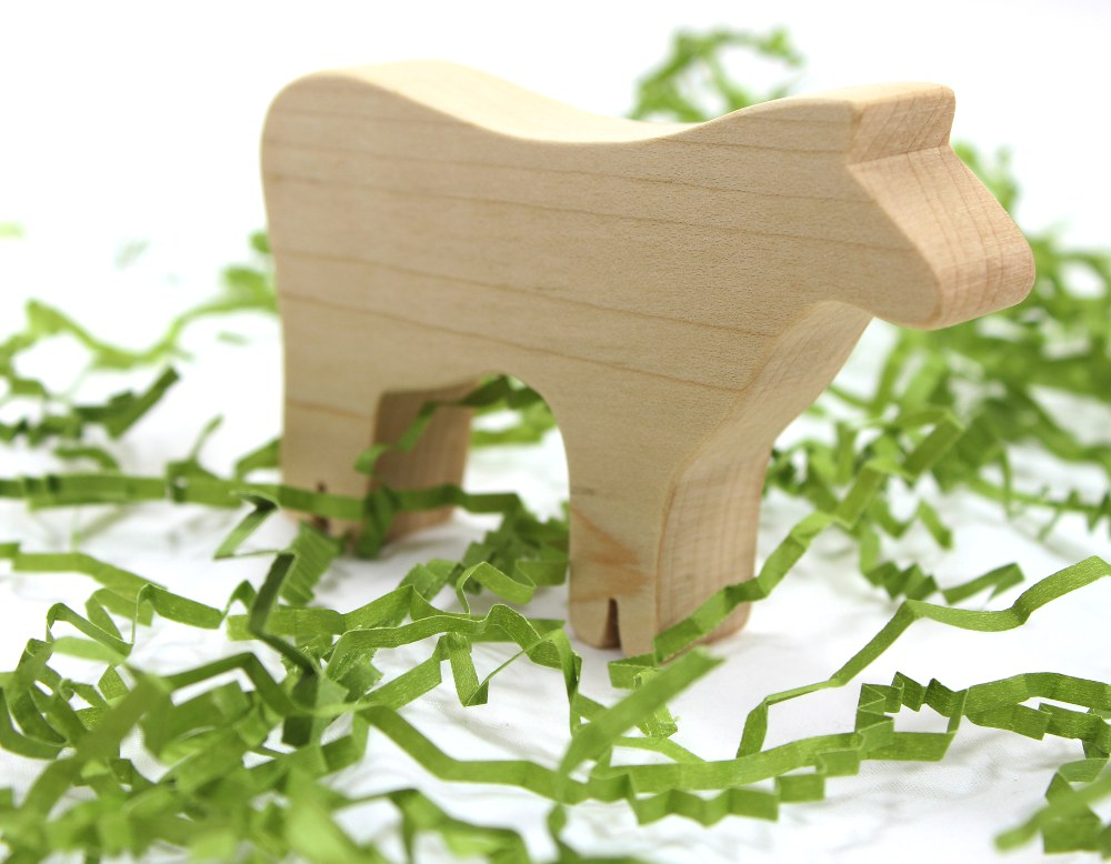 Wood Farm Toy Set