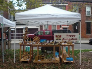 Happy Bungalow Wee Folk Fairy Festival Booth Display