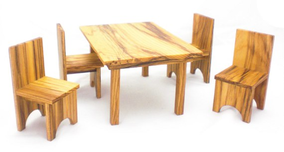 Happy-Bungalow-Wood-Dollhouse-Furniture-1-12-Scale-Hickory-Dining-Set-Table-And-Chairs-alt003a-570
