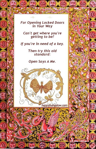A Magic Spell for Opening Locked Doors