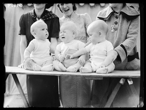 vintage baby show photo