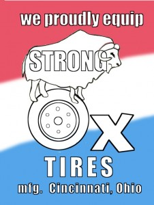 poster for Strong Ox Tires