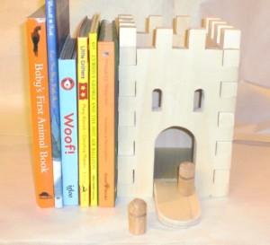 prototype castle bookend