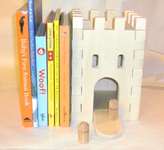 prototype castle bookend