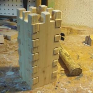 Castle tower toy prototype