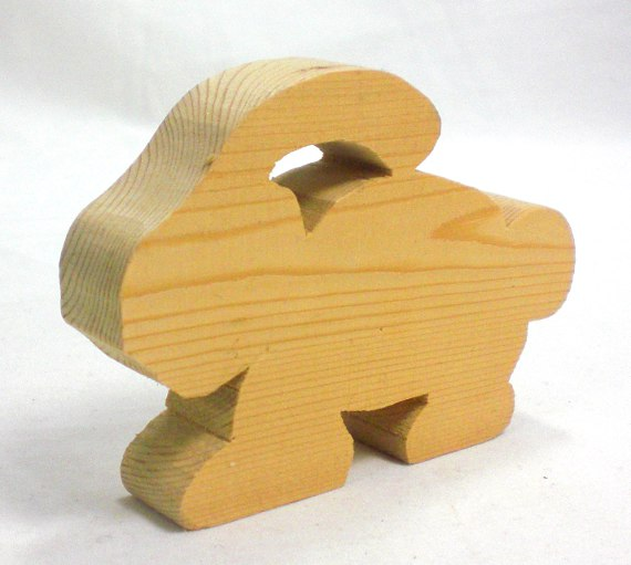 scroll saw rabbit