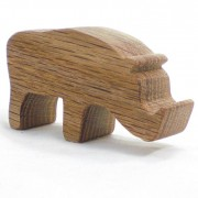 wood toy animal warthog