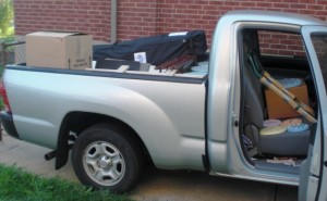 first art show disjointed truck packing