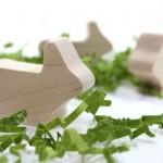 wooden rabbit toy