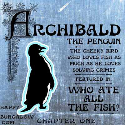 Detective Serial featuring Archibald the Penguin logo